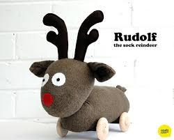 meet rudolf the sock reindeer u2013 craft schmaft