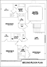 upstairs floor plans villas