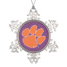 clemson ornaments keepsake ornaments zazzle