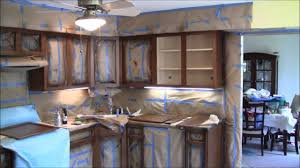 Quick Overview Of NHance Cabinet Color Change Process YouTube - Change kitchen cabinet color