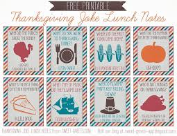 just peachy designs printable thanksgiving joke lunch notes