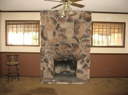stack stone fireplace textures bringing different look for a room