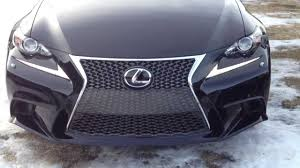 lexus is350 f sport front grill 2014 lexus is 250 awd executive f sport package review in black