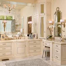 Corner Bathroom Furniture Magnificent Corner Bathroom Cabinet With Beams Cozy Country