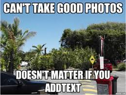 Add Text Meme - addtext captions for your photos quick and easy