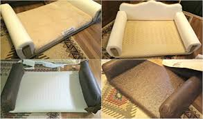 Diy Sofa Bed How To Diy Leather Sofa And Giveaway Redo It Yourself
