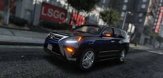 lexus on vogue tires 2015 lexus gx460 gta5 mods com