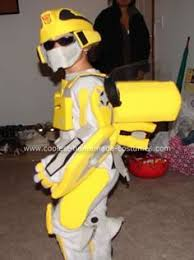 Halloween Costumes 4 Boy Coolest Transforming Bumblebee Transformer Costume Transformer
