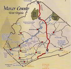 mercer map mercer county area maps