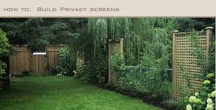 Privacy Screen Ideas For Backyard Privacy Panels For Yard Solidaria Garden