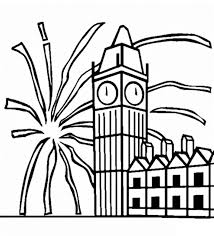 images of firework in new year coloring pages coloring pages
