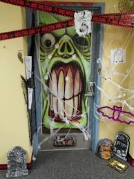 Halloween Decorating Doors Ideas 56 Halloween Monster Door Decorating Contest Door Decorating