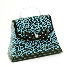 cheetah print party supplies maple craft leopard print favor purse pack of 12 pieces