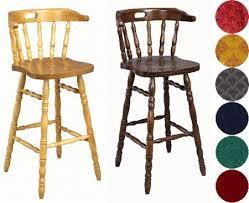 oak wood bar stools fixed height kitchen bar stools wooden chrome satin finish