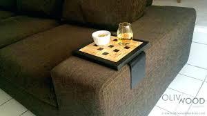 plateau pour canapé tablette pour canape plateau pour canape range taclaccommandes et