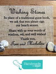 wishing rocks for wedding wedding sign stones wishing stones unique special occasion or