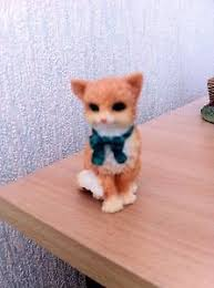 a small cat with bow tie ornament ebay