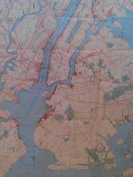 Map Of New York Harbor by Map Of The Month U2013october 2014