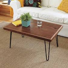 rectangular wood hairpin coffee table 14 best hair pin legs images on pinterest hair clips hairpin legs