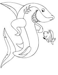 25 melhores ideias shark coloring pages