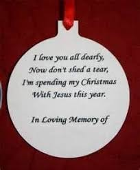 personalized photo ornament in loving memory 12642