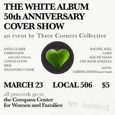 50th anniversary photo album the white album 50th anniversary cover show a benefit for the