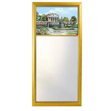 uva diploma frame of virginia eglomise mirror at m lahart