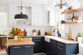 images of modern kitchen kitchen revamp two toned modern kitchen place of my taste