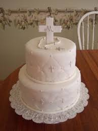 First Communion Cake Decorations First Communion Pic While Holding The Baptism Pic Completed