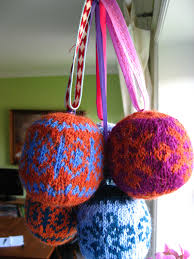 oklyous creative world knitted balls