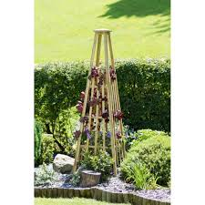 garden obelisk 200cm height parcel in the attic lifestyle