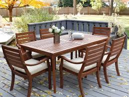 Bistro Patio Sets Patio 30 Simple Bistro Patio Wooden Outdoor Dining Sets