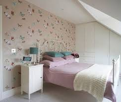 Best Spare Bedroom Ideas Images On Pinterest Butterfly - Ideas for bedroom wallpaper