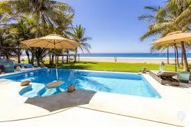 luxury oceanfront villa puerto escondido oaxaca in puerto