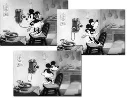 mickey mouse follies black white