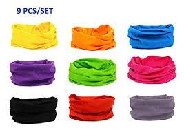 bandana wristband kalily oringinal pack of 6 9pcs headband bandana protective multi