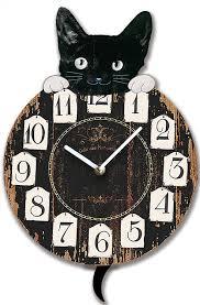 Pendules Murales Cuisine by Horloge Murale Chat Queue Comme Pendule Cuisine Neuf Amazon Fr