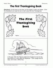 the thanksgiving book teachervision