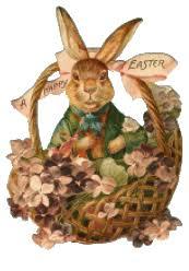 vintage easter baskets free easter basket clipart