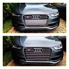 color of plastic on grill audiworld forums