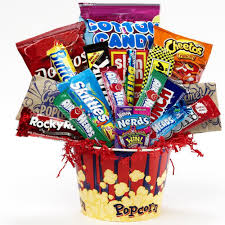 food bouquets of appreciation gift baskets junk food snacks and candy