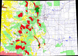 Colorado Map Images by File Wilderness Areas In Colorado Png Wikimedia Commons