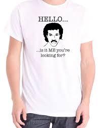 lionel richie hello joke novelty t shirt all sizes ebay