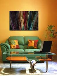 Art For Living Room 15 Solid Color Living Rooms With Wall Paintings Rilane