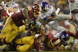 redskins overcome shoddy field football folly to defeat giants