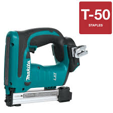 makita 3 8 in 18 volt lxt cordless stapler tool only xts01z
