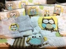 Boy Owl Crib Bedding Sets Owl Baby Bedding Boys U2013 Hamze