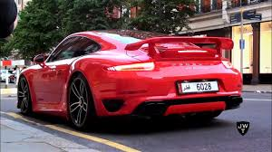 porsche 911 turbo sound stunning porsche 991 turbo s coupe techart in revs