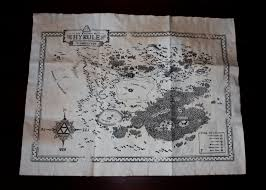 Map Of Hyrule Zelda Kingdom Of Hyrule Map Ocarina Of Time