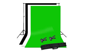 Backdrop Stand Photo Studio Background Stand Kit Groupon